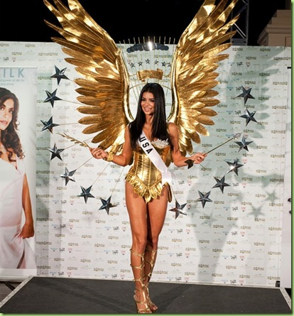miss usa presidential seal costume