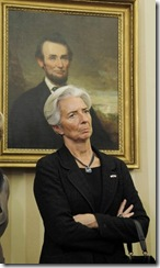 christine lagarde finance and economy minister
