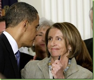 Pelosi Checking Obama