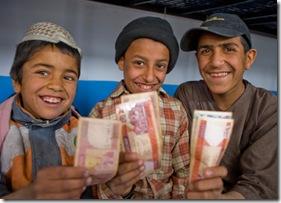 ISAF Donation to Orphanage