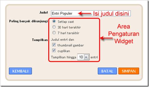pasang-widget