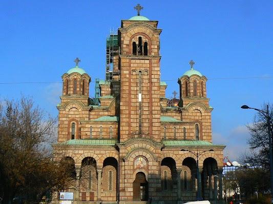 Imagini Serbia: Sveti Marko biserica din Belgrad