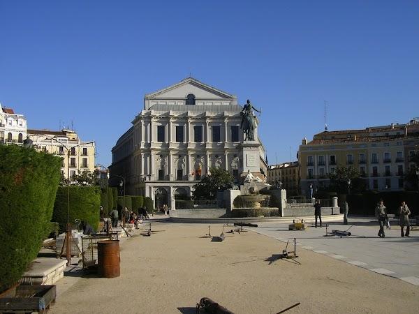 Imagini Spania: Teatrul Regal, Madrid