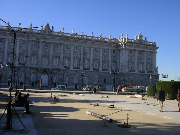 Imagini Spania: Palatul Regal, Madrid