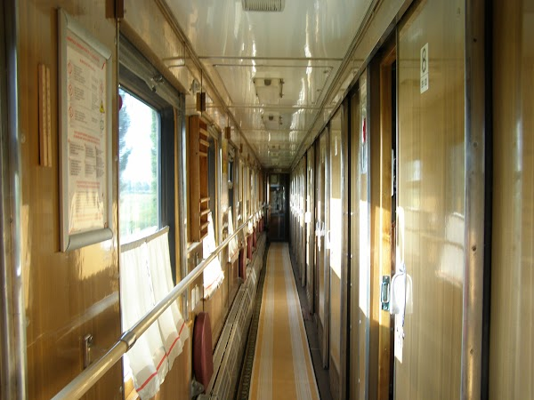Trenul Bucuresti - Moscova