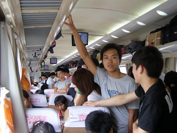 In tren Beijing - Guangzhou