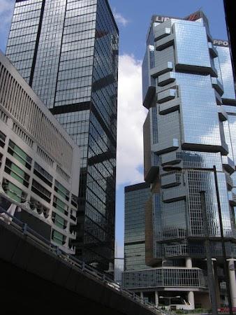 Obiective turistice Hong Kong:  HK cladiri futuriste