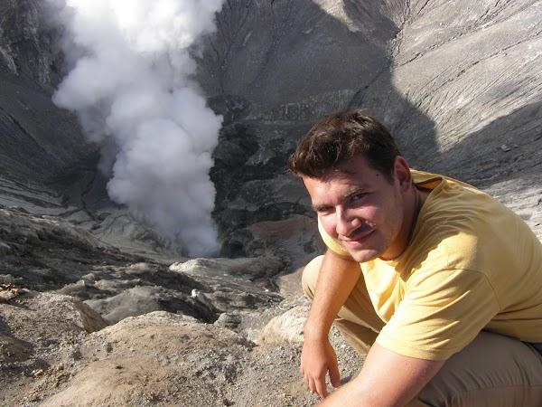 Obiective turistice Indonezia: Bromo crater