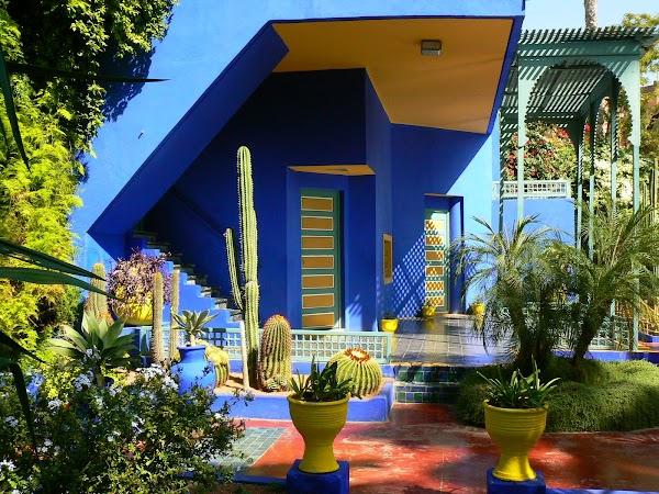 Obiective turistice Maroc: spre vila Yves Saint Laurent, Marrakech