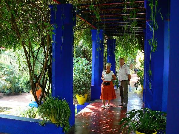 Obiective turistice Maroc: prin Majorelle, Marrakech