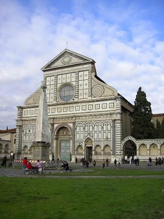 Obiective turistice Italia: Santa Maria Novella, Florenta