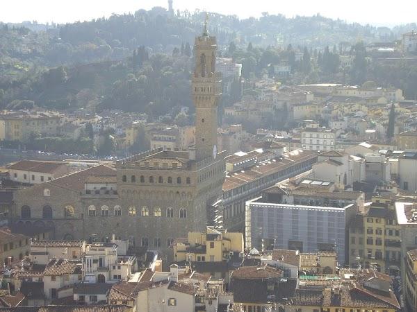 Obiective turistice Italia: din Campanile di Giotto, Florenta