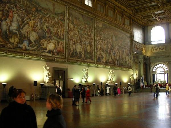 Obiective turistice Italia: Consiglio di 500, Firenze