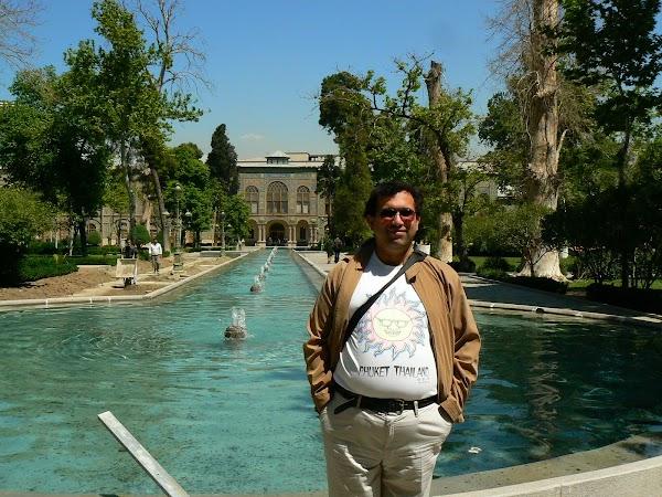 Obiective turistice Iran: Palatul Golestan, Teheran drumul spre China