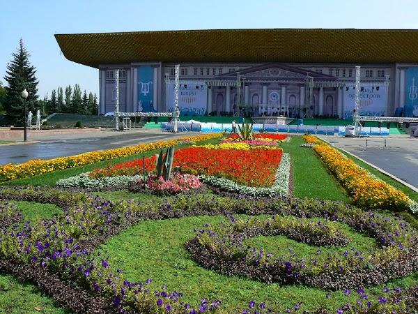 Obiective turistice Kazahstan: Muzeul National Almaty, Drumul spre China