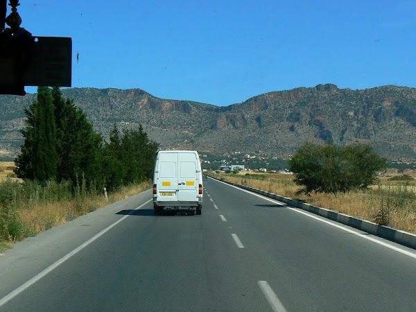 Obiective turistice Cipru de Nord: spre Kyrenia.JPG