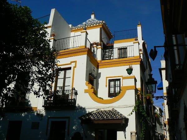 Obiective turistice Spania: Sevilla - orasul vechi, 7 mai 1986