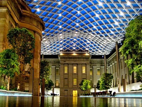 Kogod Courtyard, Washington