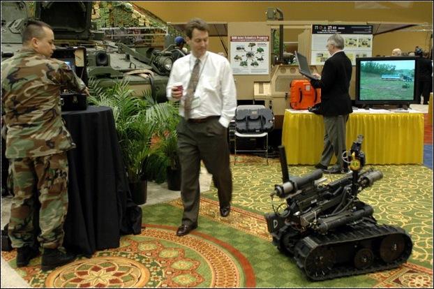 TALON Small Mobile Robot24
