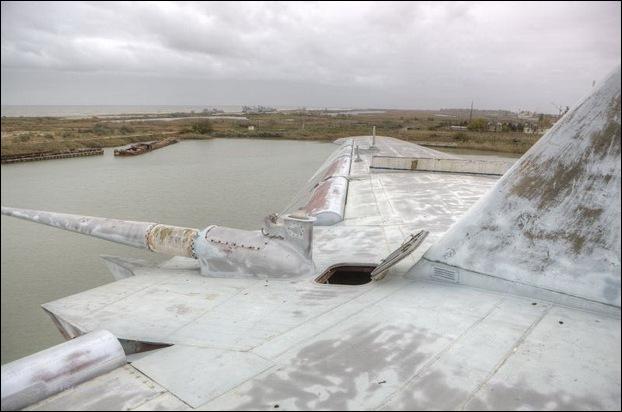 Soviet Ekranoplan 16