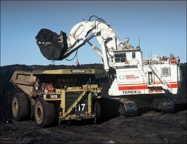 TEREX RH400 worlds largest hydraulic shovel 20