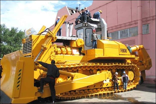 ChTZ T-800  Bulldozer