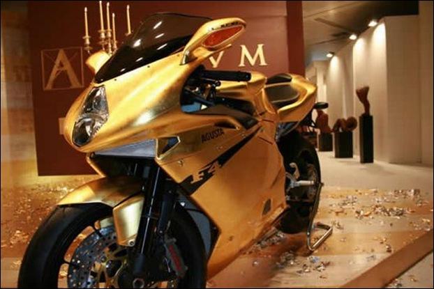 Gold MV Agusta F4 - King Midas
