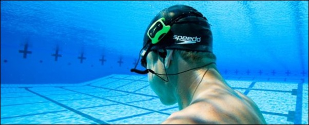 Swimmer's MP3 Player