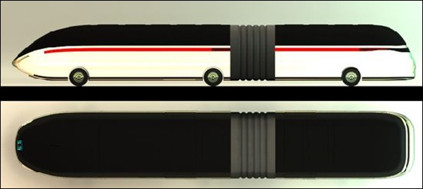 Zero emission bus concept