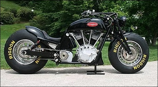 Cubic Inch V-Twin Motorcycle 5