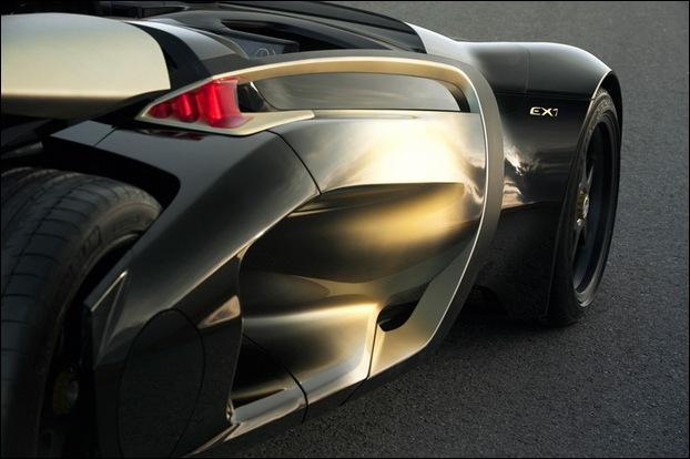 Peugeot EX1 electric concept car 5