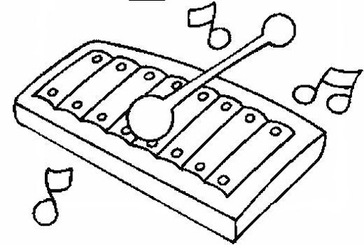 De instrumentos de cuerda para colorear - Imagui