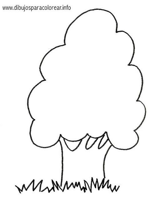 Dibujos de arboles para pintar for Focos para iluminar arboles