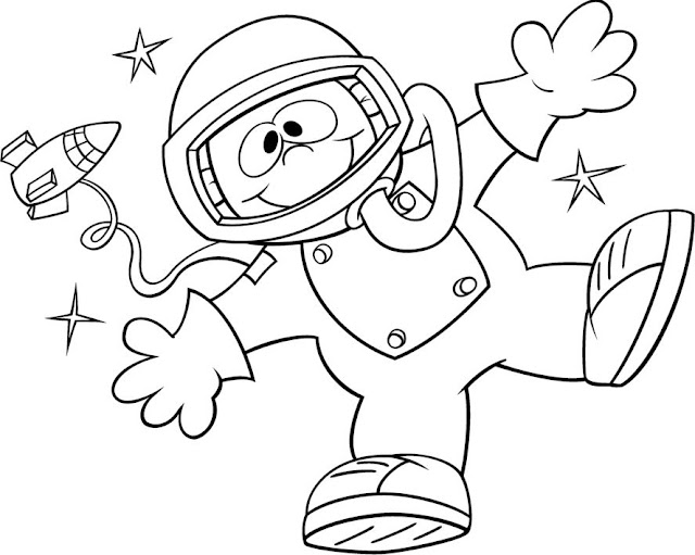 Imagenes De Astronautas Para Nios. Simple Rotating Smart Espacio ...