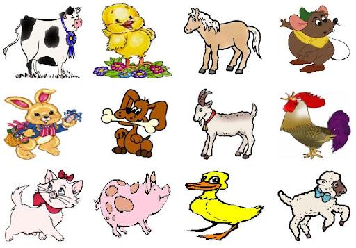 Animales Domesticos Para Colorear Para Ninos
