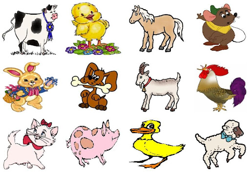 Dibujos de animales domesticos EN CARICATURA - Imagui