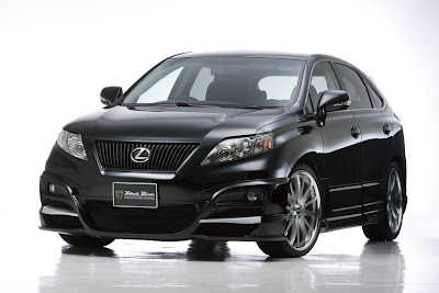 Wald International's Black Bison styling packages for Lexus RX350 / RX450h
