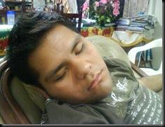 neto durmiendo