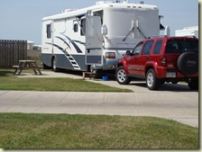 Our RV Spot At Pioneer RV Park Port Aransas
