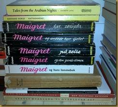 Noe lyrikk, noe Maigret. En salig blanding :)