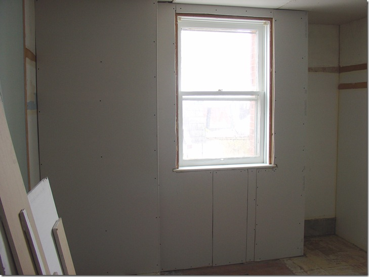 We have drywall!