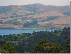 Looking Across Tomales Bay to Three Peaks