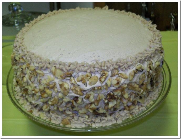 small maple cake