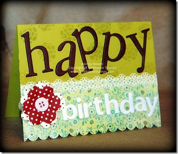 hb chipboard card