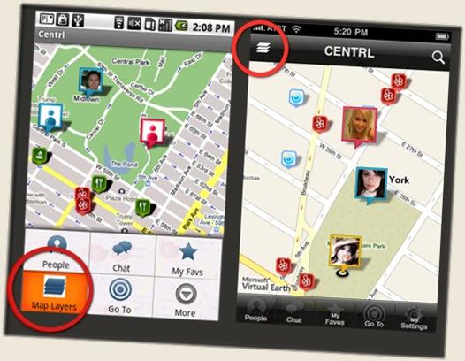 Centrl app on E71