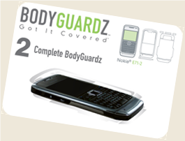 BodyGaurdz - Covers for your Nokia E71 and Nokia E71x