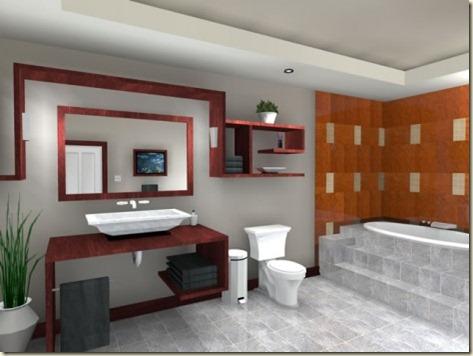fotos de decoración de baños 1d