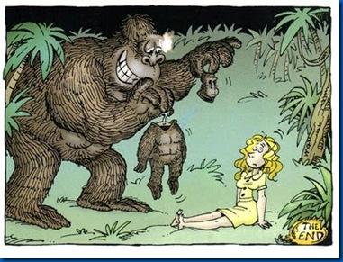 gorila traje