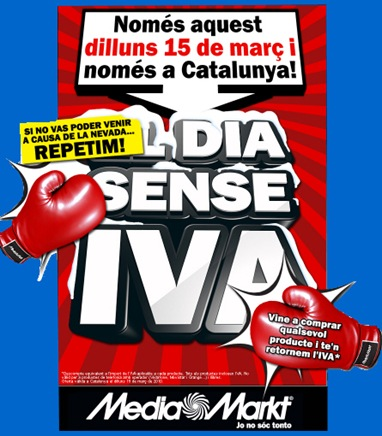 media markt dia sin iva 15 marzo 2