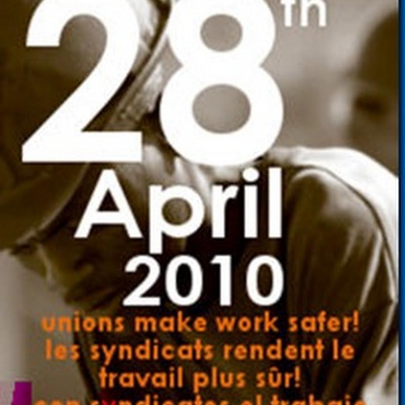 Día Internacional de la Salud y Seguridad en el Trabajo